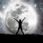 Space, moon and man – Version 2